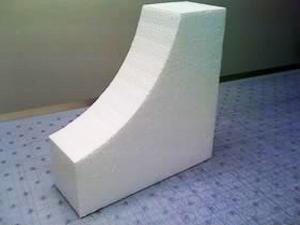 Contour cut 1# expanded polystyrene corner block